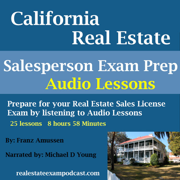 california real estate salesperson exam lesson 1
